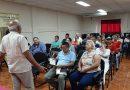 Nuestro Alcalde, Prof. Erwing De Castilla Urbina y Vice alcaldesa, Estelbina Báez, en un encuentro con empresarios, comerciantes emprendedores